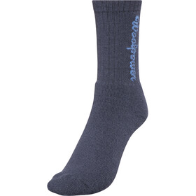 Woolpower 400 Logo Socks Unisex dark navy
